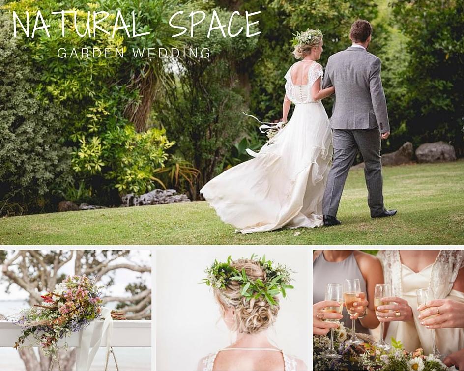 Natural Garden Wedding