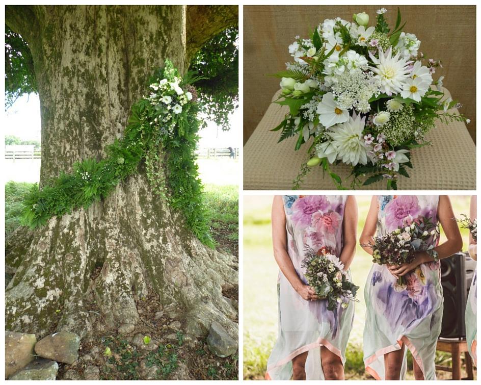 Widflower wedding bouquet