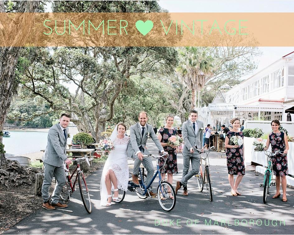 Summer Vintage wedding in Russell