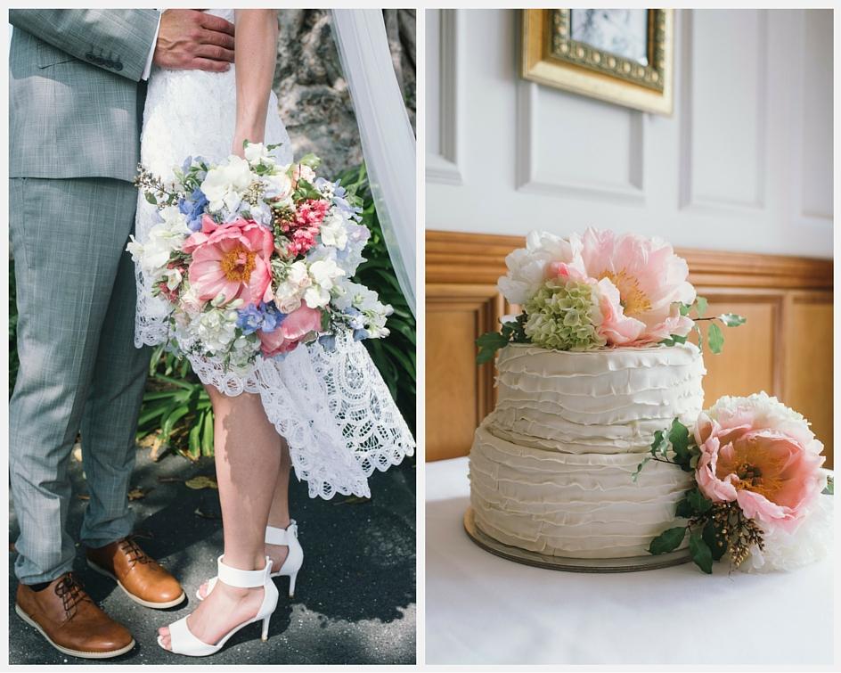 Summer Vintage wedding bouquet