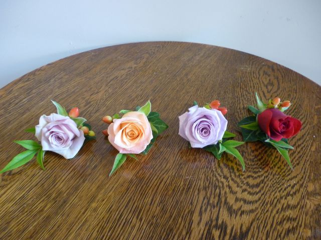 Vintage Harvest Wedding Buttonhole